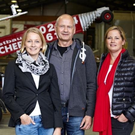 Maren Schleicher, Friedrich Schleicher & Mirjam Schleicher-Stütz